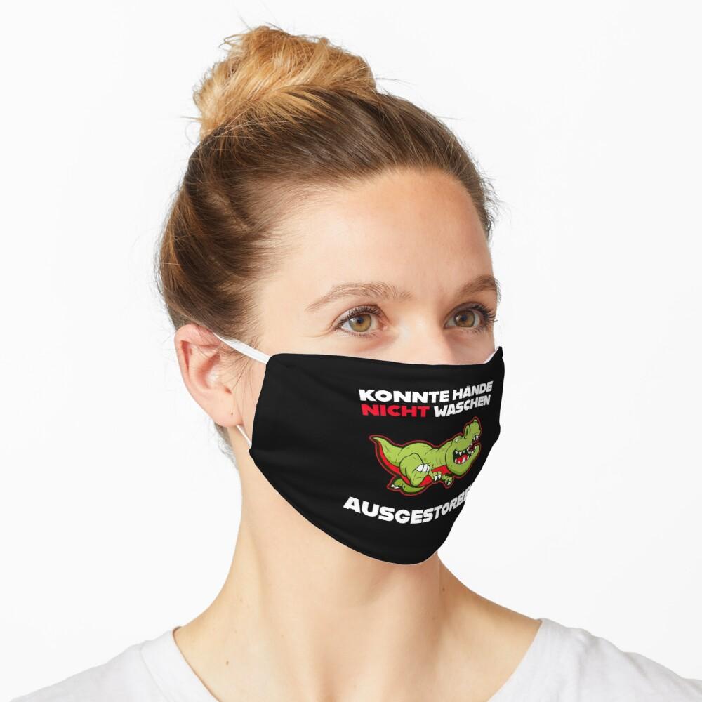 Dinosaurier Gesichtsmaske